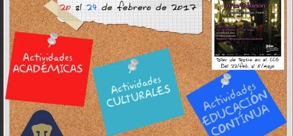ACTIVIDADESSEMANALES201720al24febrero