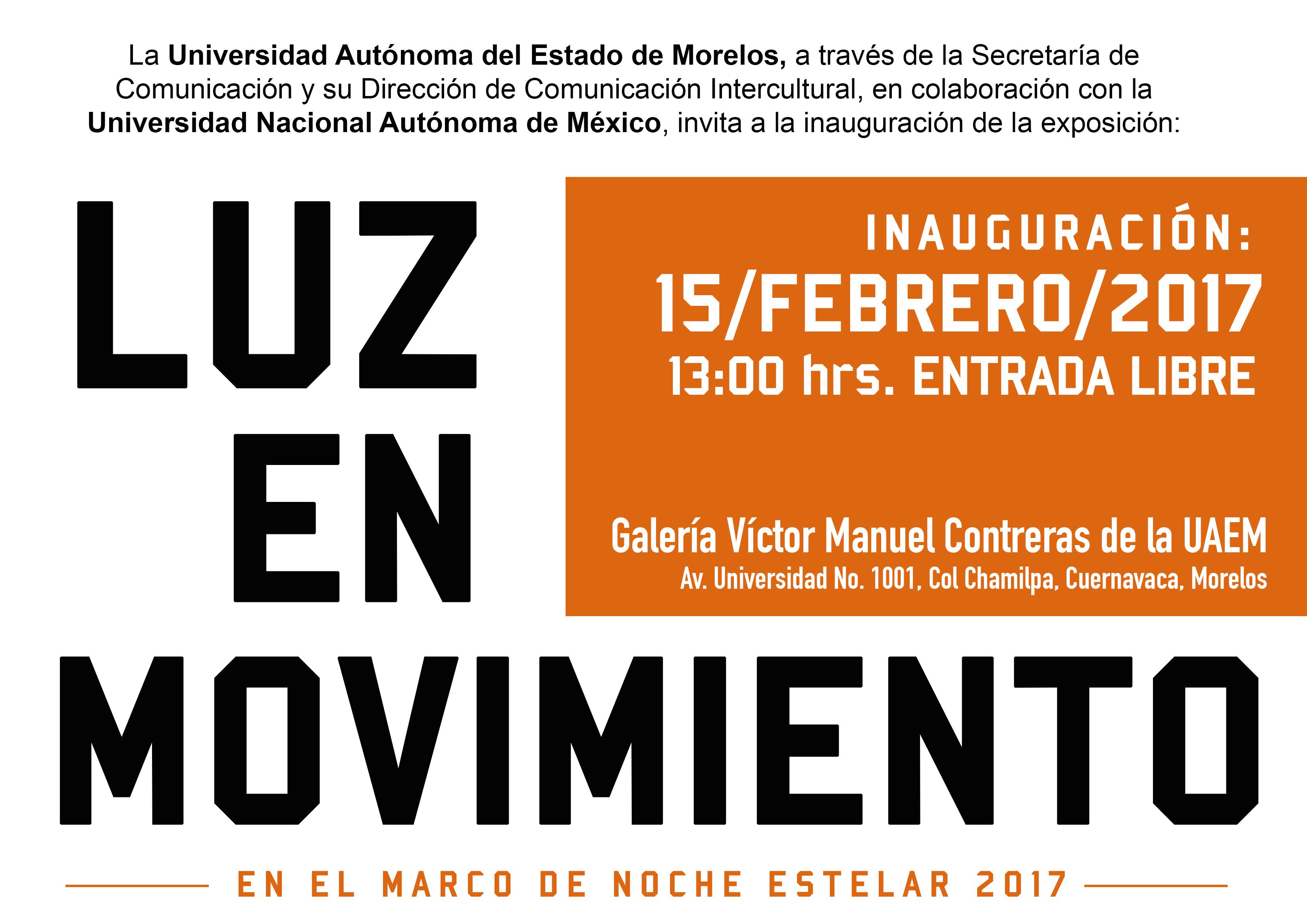 Cartel Luz en Movimiento 15Feb.2017