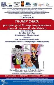 Cartel TRUMPSeminario politind21feb.2017