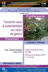 Cartel Sustentabilidad SemGenero 23agosto2017