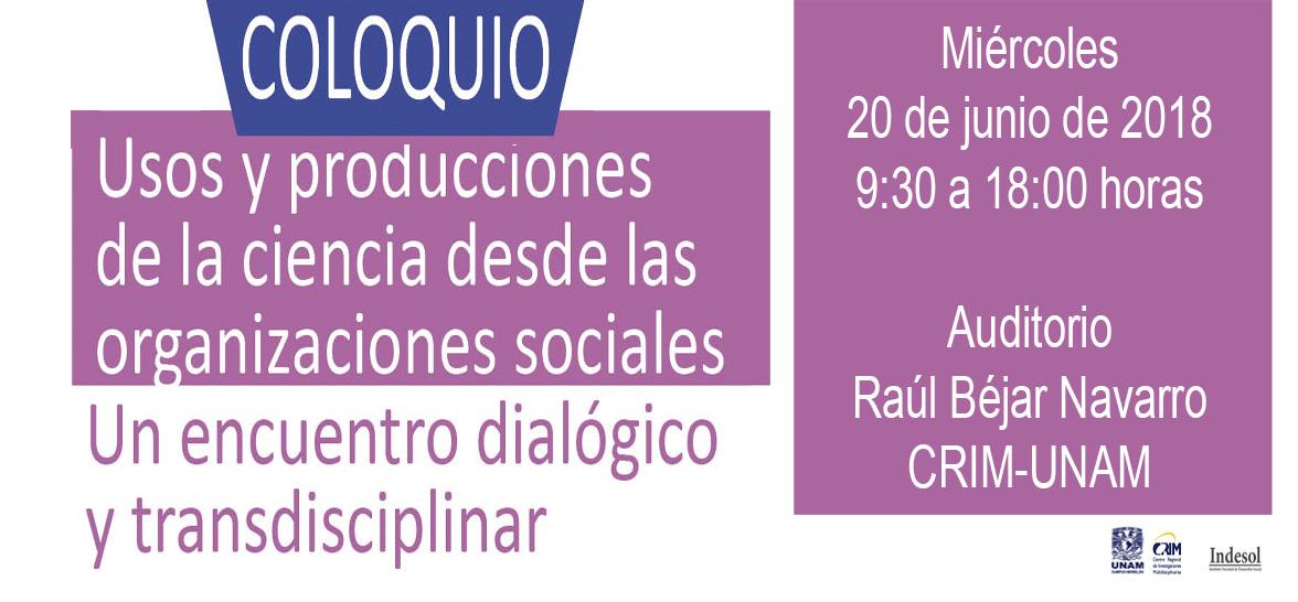 Cartelcarrusel Coloquio UsosProducCiencias20Jun2018