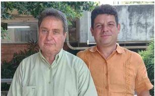 Captura Dr. Isaac y Dr. Octavio garcía