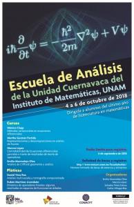 Cartel Escuela de Analisis 4y 6 oct.2018