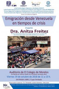Carrusel Emigracion Venezuela 19oct.2018