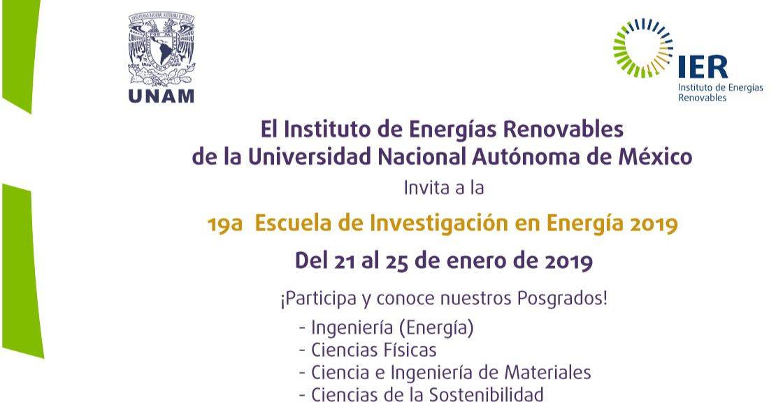 Captura Cartel 19 Escuela Investigación en Energía 2019